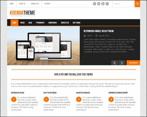 koenda wordpress theme