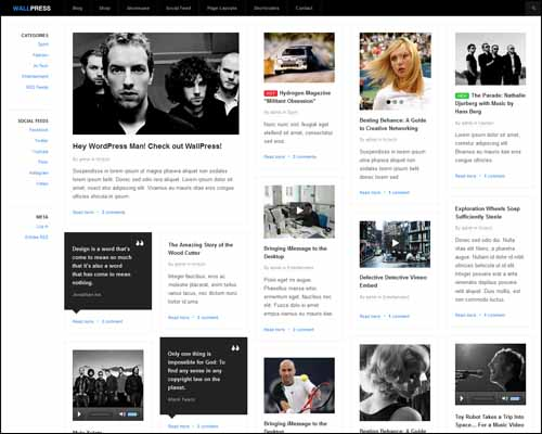 wallpress wordpress theme