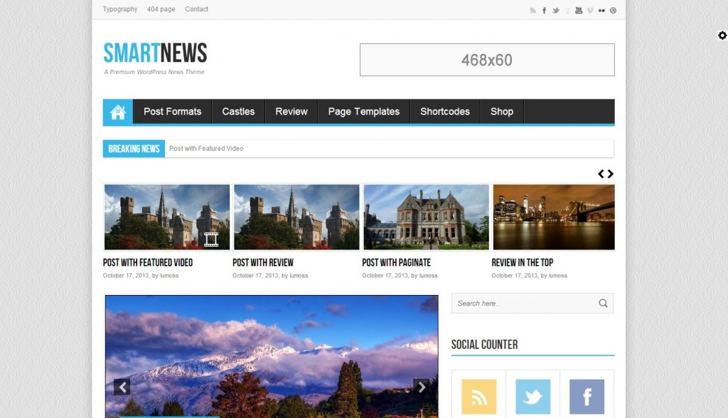 SmartNews wordpress theme