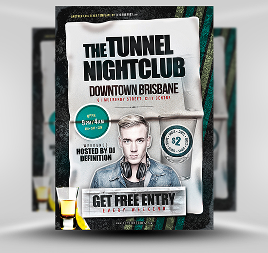 Best Free  Premium Psd Flyer Templates  Feedtip