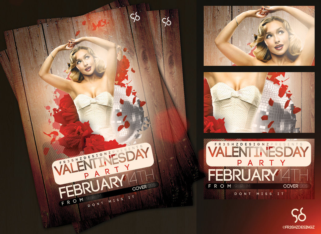 best premium psd flyer templates feedtip v day flyer