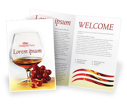 Brandy Brochure Template