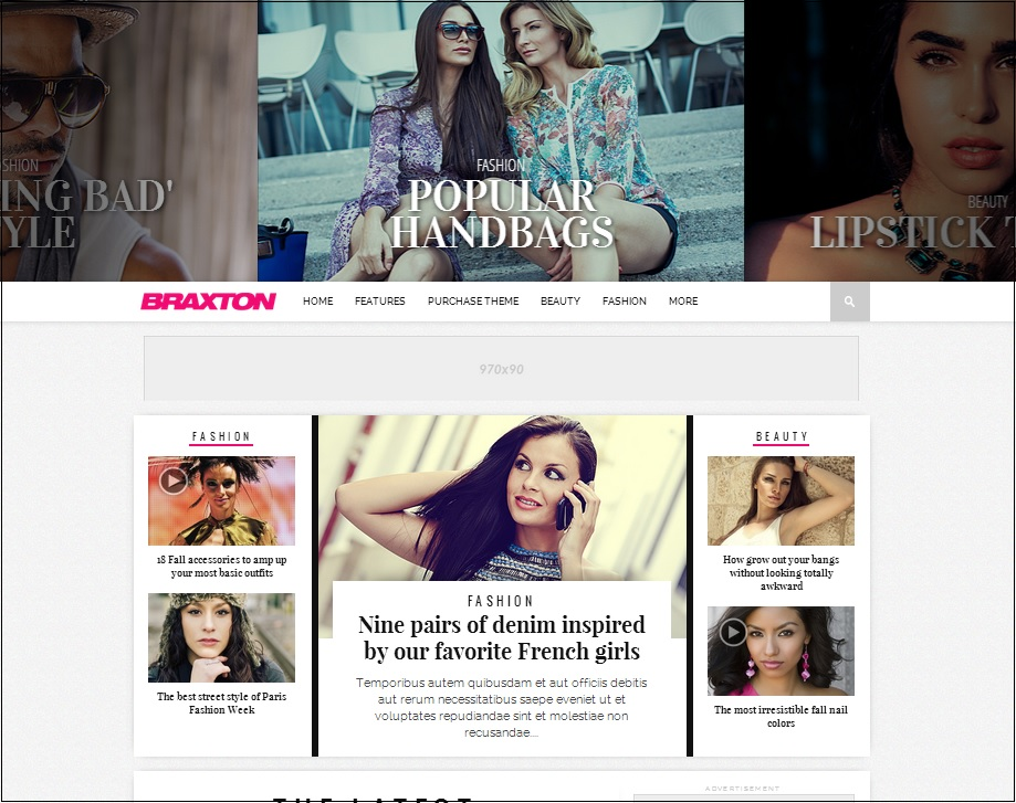 Braxton wordpress theme