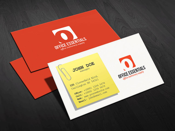 CREATIVE OFFICE SUPPLIES BUSINESS CARD