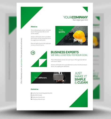 60 Best Free Premium PSD Flyer Templates FeedTip – Advertising Poster Templates