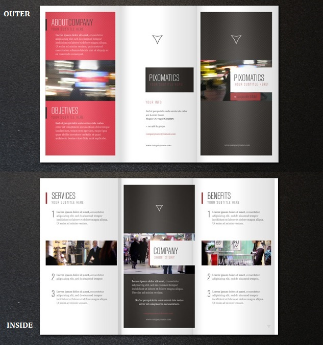 2 fold brochure template photoshop - 35 best free brochure templates feedtip