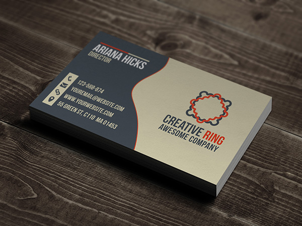 Creative Ring business card