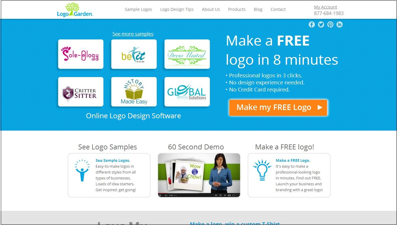 best logo maker generator feedtip logo garden