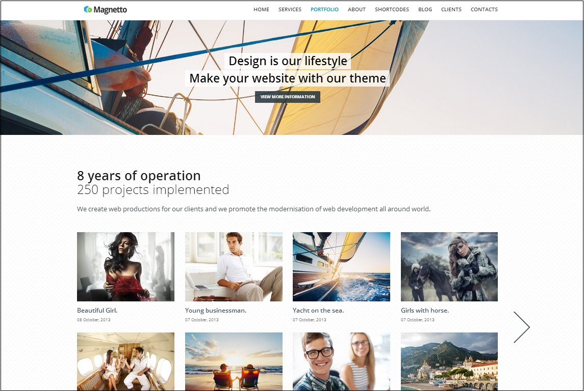 Magnetto WordPress Theme