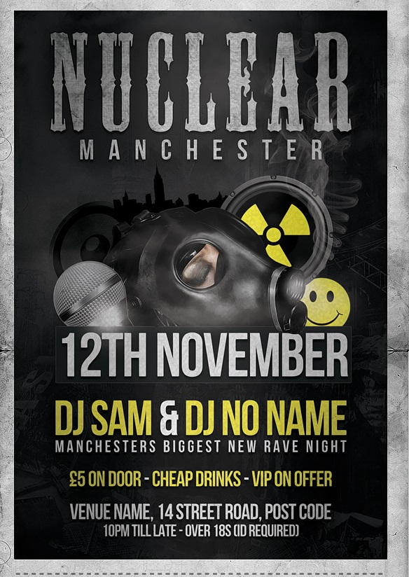 Nuclear Flyer Template