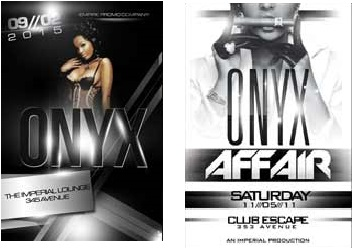 ONYX FREE PARTY FLYER TEMPLATE