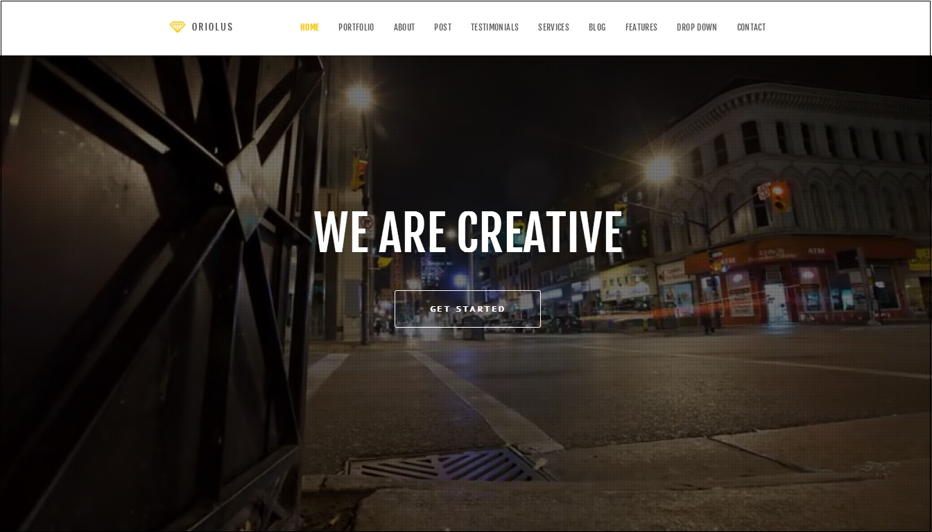 Oriolus WordPress Theme