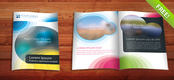 35 best free brochure templates feedtip for Pamphlet photoshop template