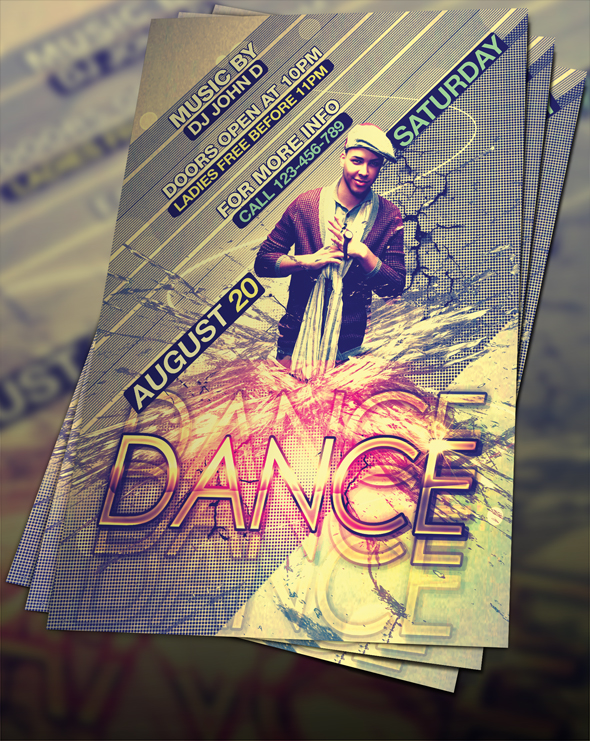 PSD DANCE FLYER