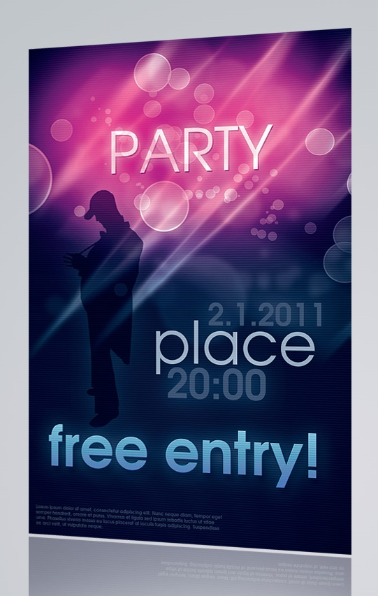 Party Flyer PSD