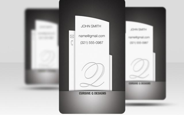 Pillar Business Card Template