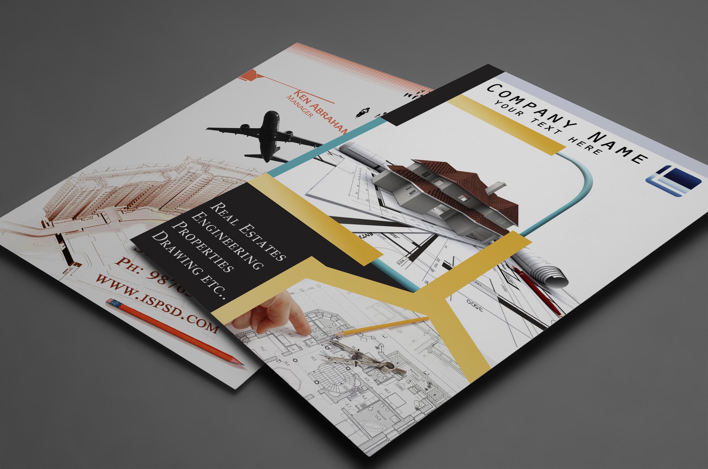 Tri-Fold Interior Brochure Word Template