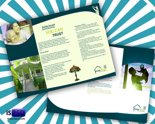 Real Estate Brochure PSD