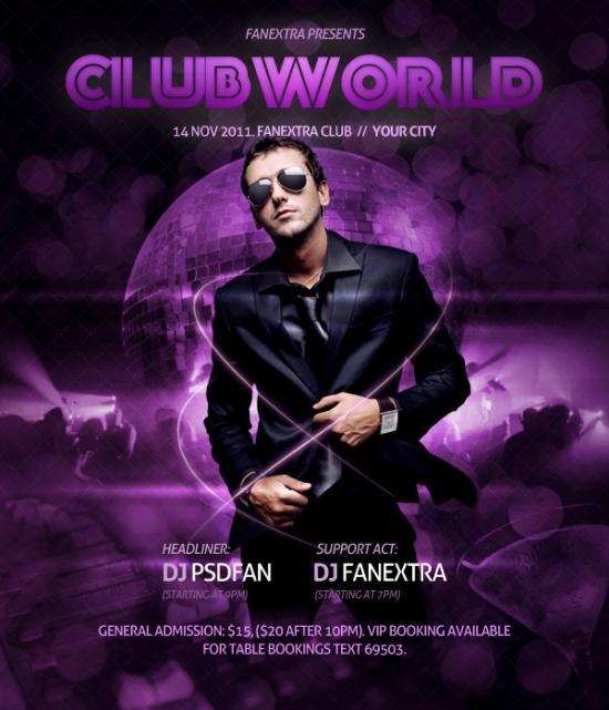 Super Slick Club Poster