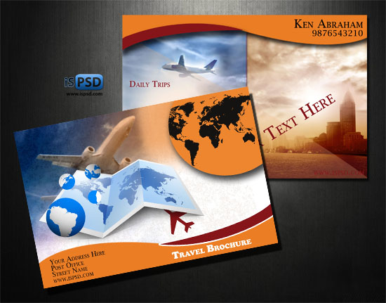 35 best free brochure templates feedtip for Travel and tourism brochure templates free