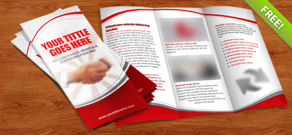 35 best free brochure templates for Simple tri fold brochure template