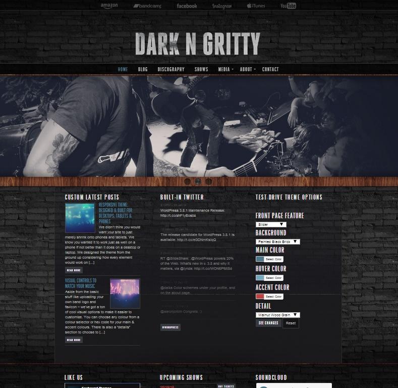 dark n gritty