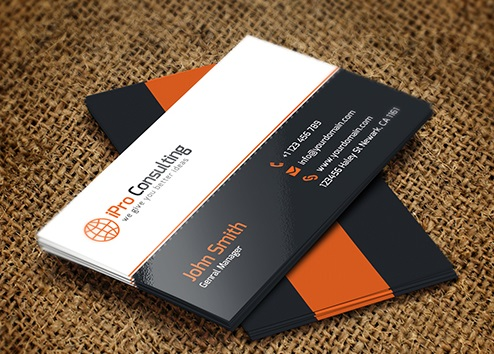 iPro Consulting Business Card