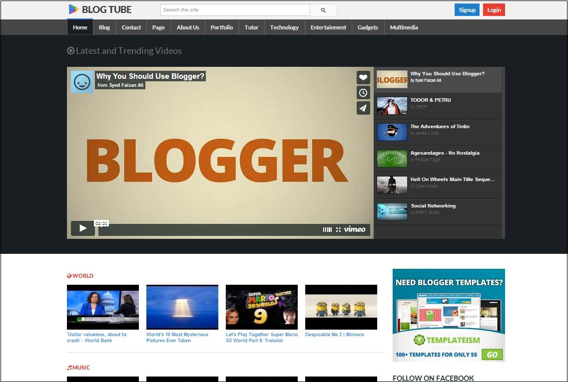Blog Tube