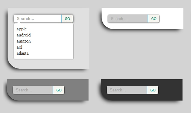 CSS3 SearchBox