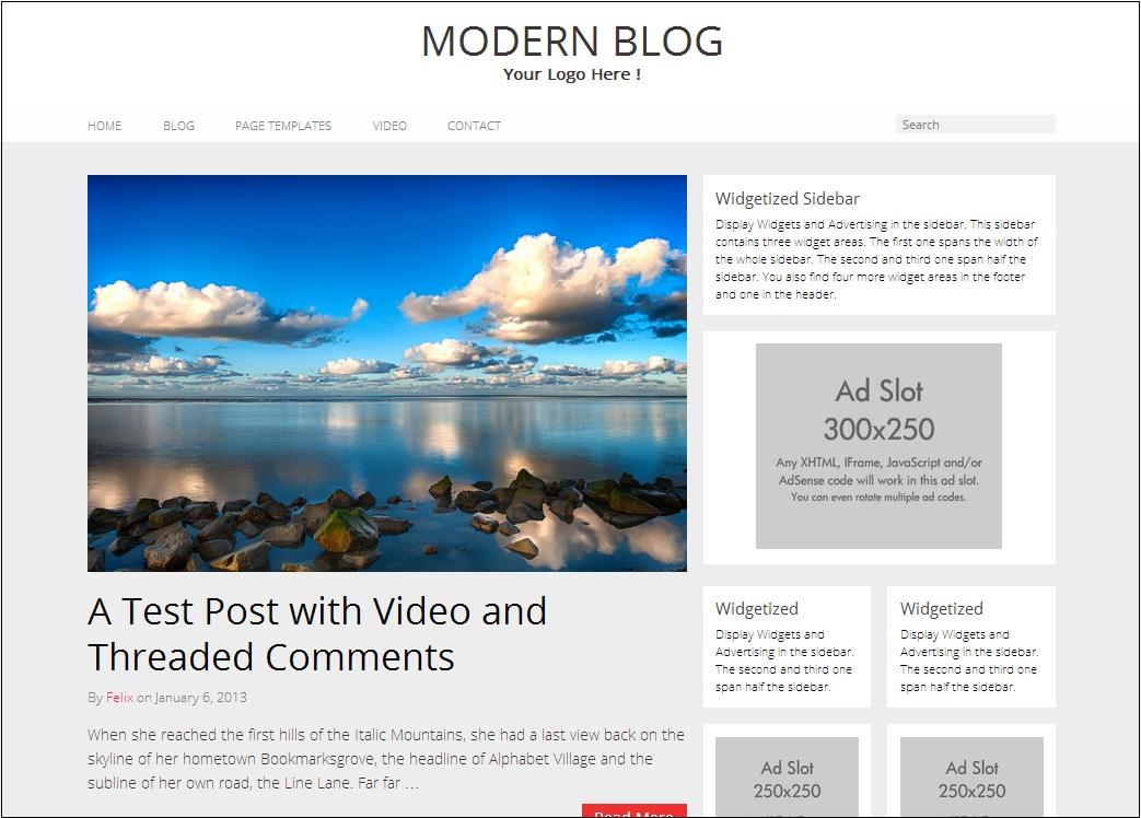 Modern Blog