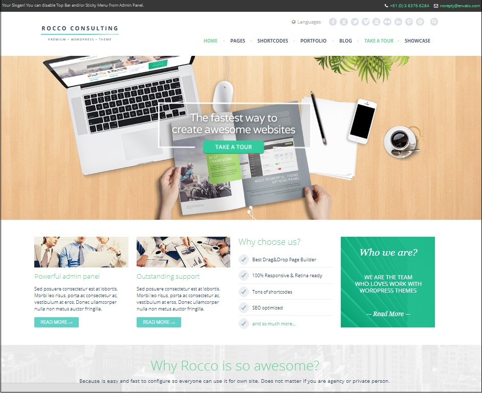 Дизайн сайта на wordpress