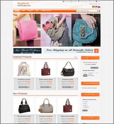 free bag store