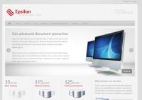 Epsilon Wordpress Theme