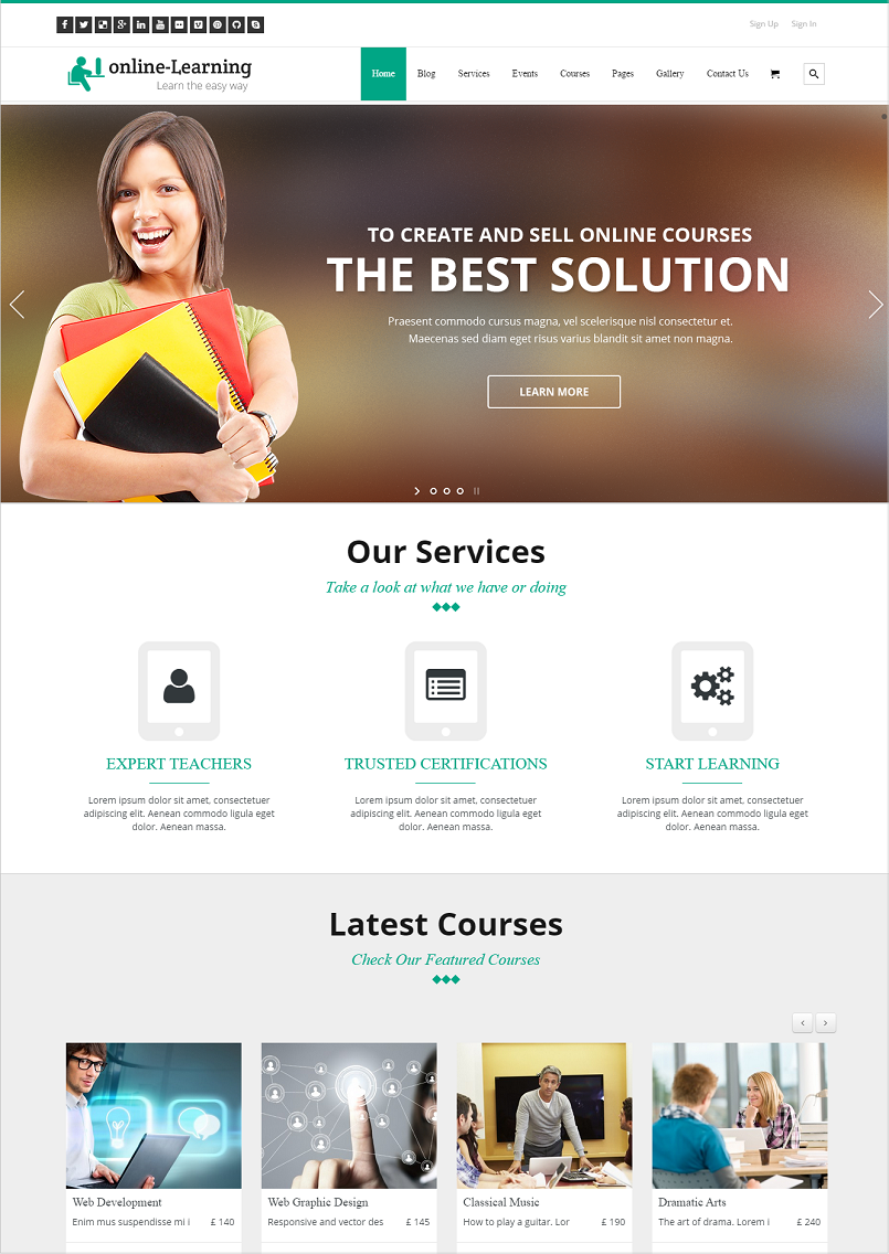 iknow education WordPress Theme