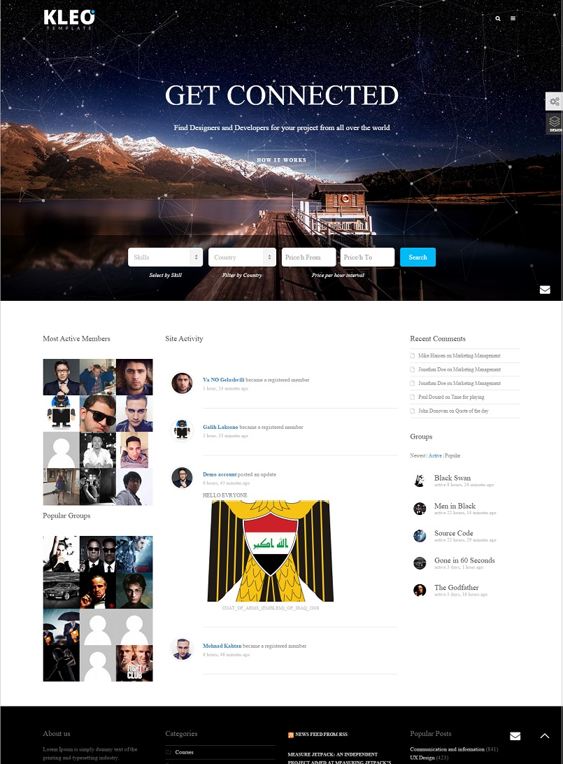 kleo wordpress theme