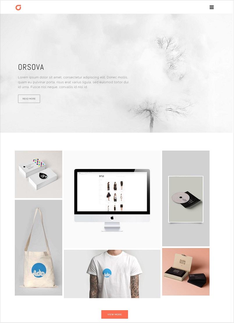 orsova portfolio wordpress theme