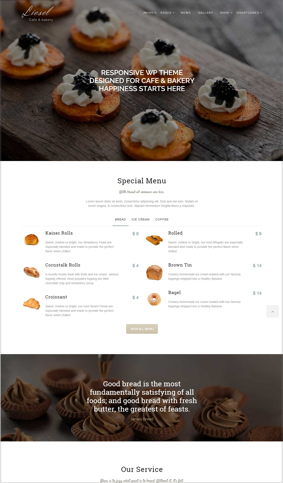 liesel wordpress theme