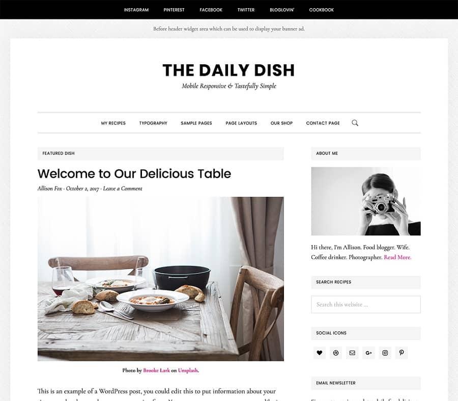Daily Dish Pro